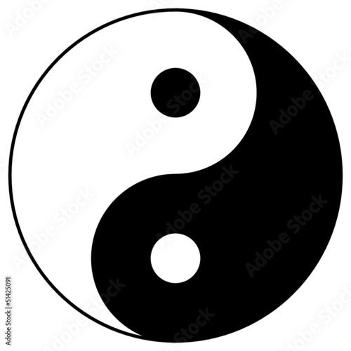 Fototapeten,yin,yin,symbol,energie