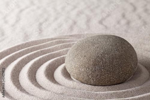 ogród zen medytacja