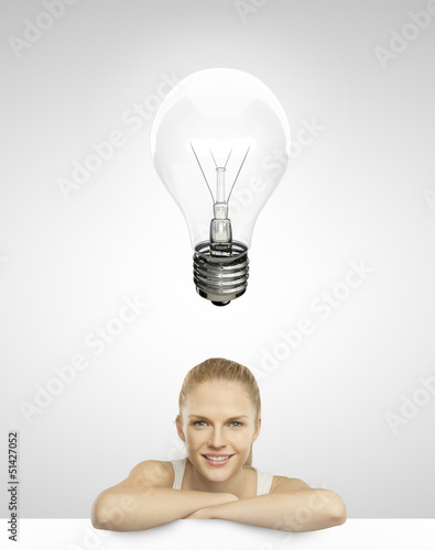 lightbulb over head