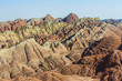 Danxia landform in Zhangye, Gansu of China