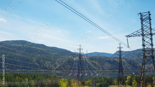 Electricity pylon, Time Lapse