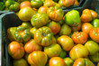 Fresh green tomatoes