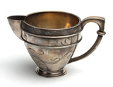 Antiquarian silver jug for milk