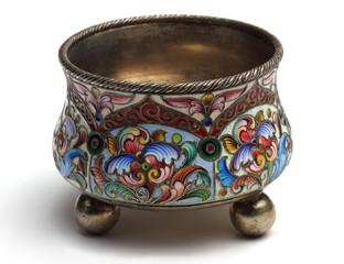 Antiquarian silver saltcellar