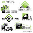 Modern Real estate icons for business design. Vector illustratio