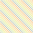 Multicolor geometric hipster pattern