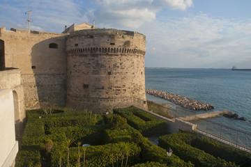 Aragon castle in Taranto, Italy