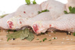 Raw Chicken Meat (on white)