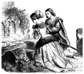 Praying Pair - Renaissance - 16th century