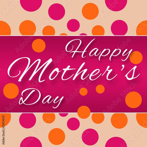 Mothers Day - Purple Pink Horizontal