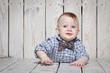 stylish funny  little boy