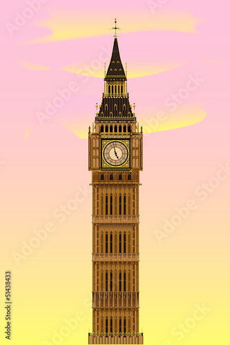 Big Ben at Dawn