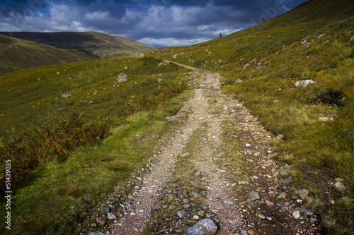 canvas print picture West Highland Way Schottland