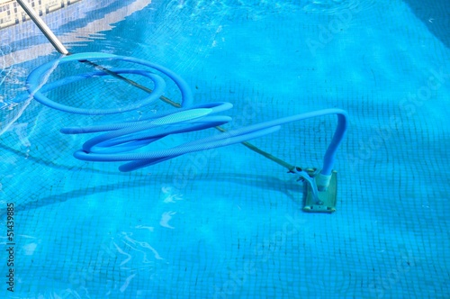 Pool cleaning equipment, Spain © Arena Photo UK