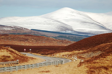Road in the Highlands