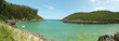 Secluded bay