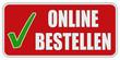 CB-Stiker rot oc ONLINE BESTELLEN