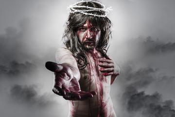 representation of the resurrection of Jesus Christ. Calvary and