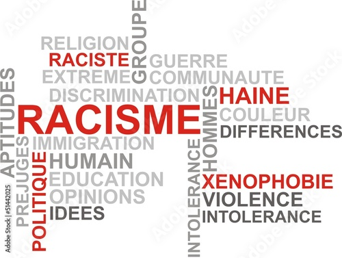 fond racisme