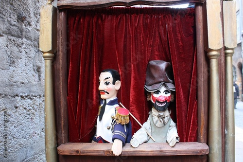 Guignol, marionette from Lyon (France)