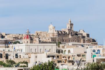 Cathedral in Rabat (Victoria), Gozo Island, Malta.
