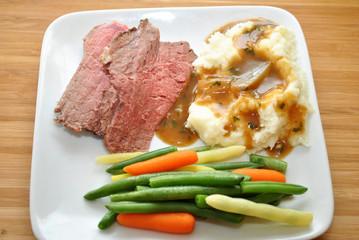 Healthy Beef Dinner
