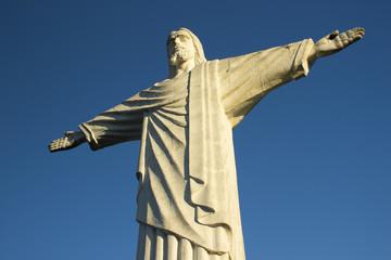 Cristo Redentor Céu Escuro