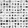 Vector universal icons set