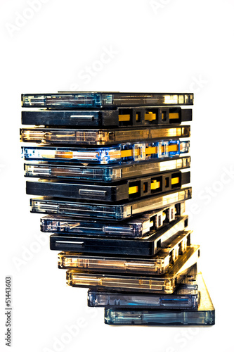 Cassette pile COLOR PROCESSED POP