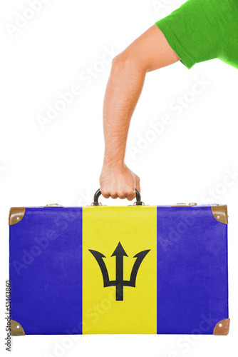 The Barbados flag