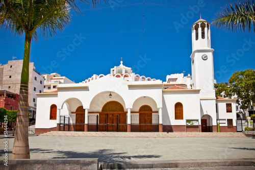 Virgen del Carmen Church at Los Cristianos, Tenerife