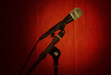 microphone red texture