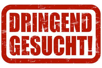 Grunge Stempel rot DRINGEND GESUCHT!