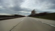 Driving on highway across Czech Republic, time lapse part 2
