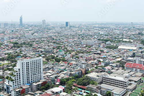 bird eyes view of bangkok