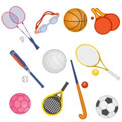 Conjunto de artículos deportivos