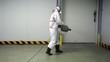 Tecnico desinfeccion con biocidas