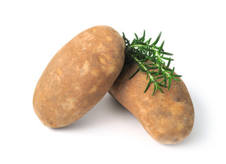 Russet Potatoes and Rosemary