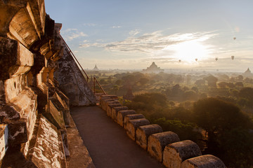 On a lonely pagoda in Bagan / Myanmar
