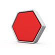 Red hexagon