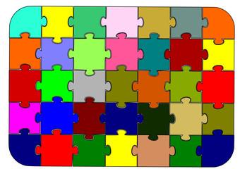 Renkli Puzzle