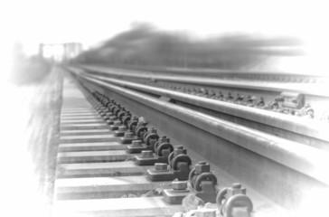 Railway - b/w