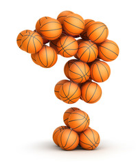 Question mark   basketball