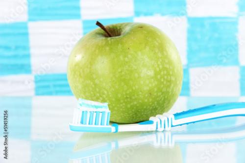 Fototapeten,zahnbuerst,regale,badezimmer,äpfel