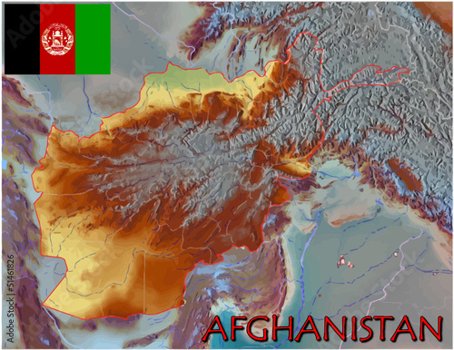Afghanistan Asia Asia Europe national emblem map symbol motto