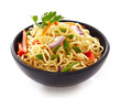 bowl of chinese noodles with vegetables - 51462207