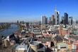 Frankfurt am Main - Blick vom Domturm - April 2013