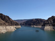 Lake Mead, Colorado River behind the Hoover Dam