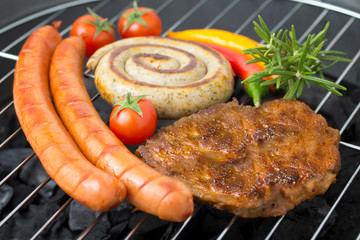 Barbecue im Sommer