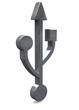 USB ICON - 3D